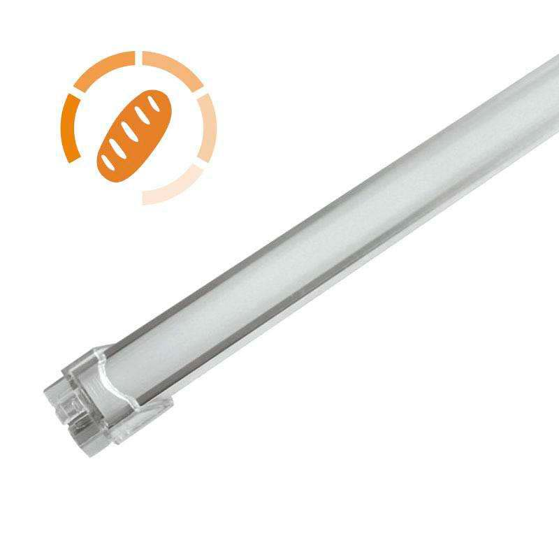 Barra LED Profresh, 9W, 56cm, Pan y repostería, Blanco cálido